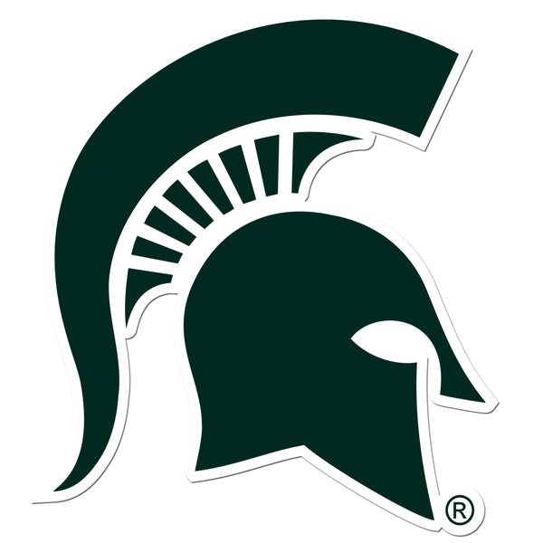 Michigan St. Spartans 8 inch Auto Decal