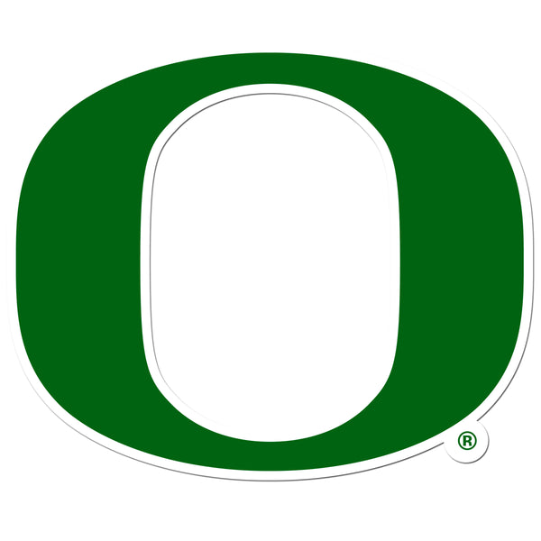 Oregon Ducks 8 inch Auto Decal