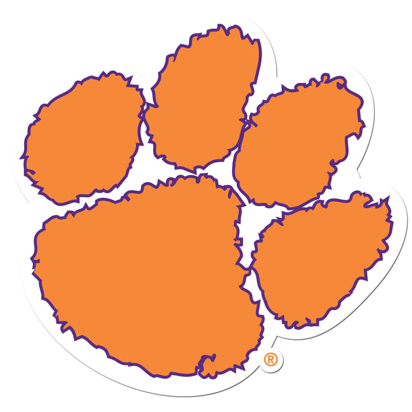 Clemson Tigers 8 inch Auto Decal
