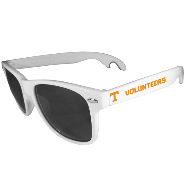 Tennessee Volunteers Beachfarer Bottle Opener Sunglasses, White