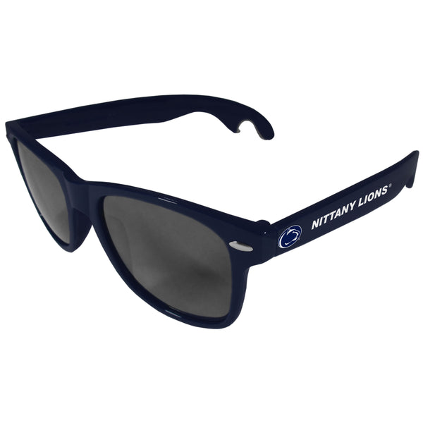 Penn St. Nittany Lions Beachfarer Bottle Opener Sunglasses, Dark Blue