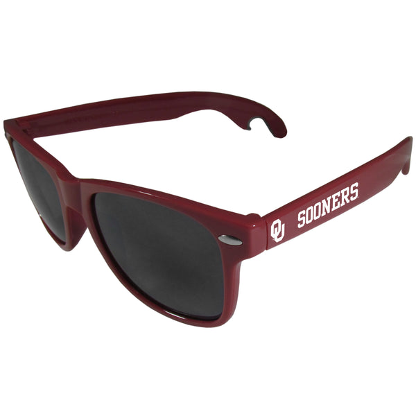 Oklahoma Sooners Beachfarer Bottle Opener Sunglasses, Maroon