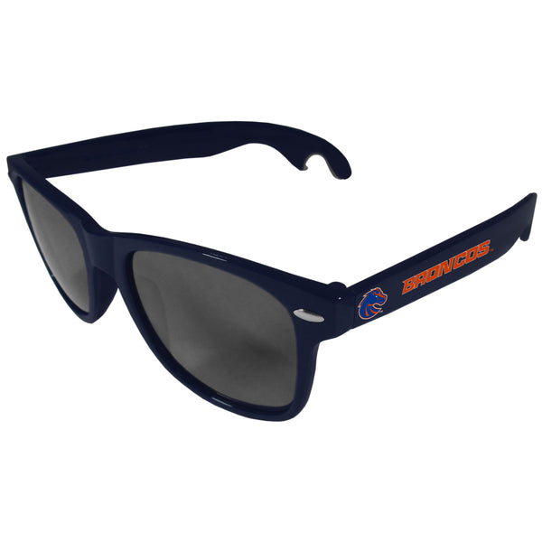 Boise St. Broncos Beachfarer Bottle Opener Sunglasses, Dark Blue
