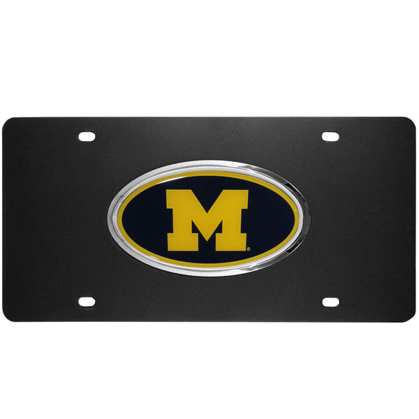 Michigan Wolverines Acrylic License Plate
