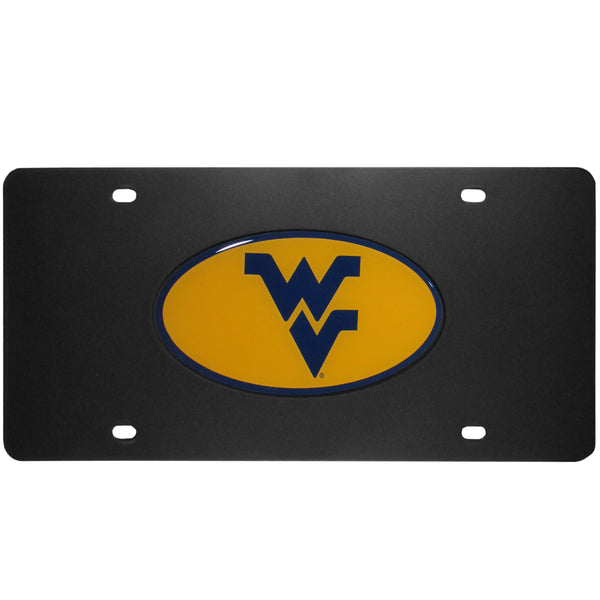 W. Virginia Mountaineers Acrylic License Plate