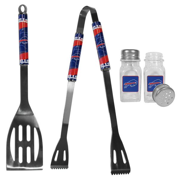Buffalo Bills 2pc BBQ Set with Salt & Pepper Shakers