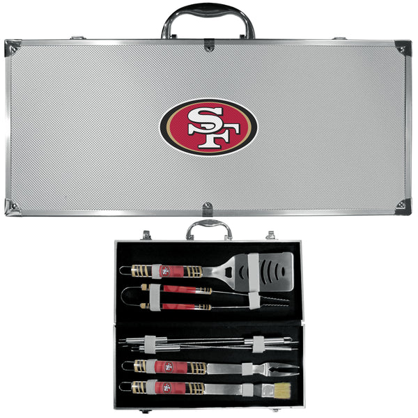 San Francisco 49ers 8 pc Tailgater BBQ Set