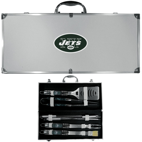 New York Jets 8 pc Tailgater BBQ Set