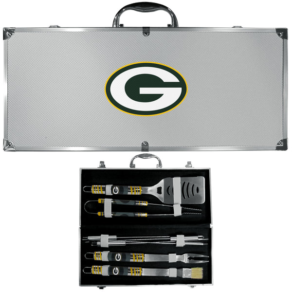 Green Bay Packers 8 pc Tailgater BBQ Set