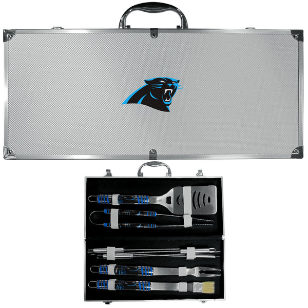 Carolina Panthers 8 pc Tailgater BBQ Set