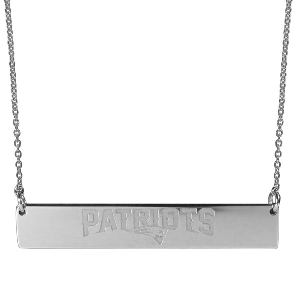 New England Patriots Bar Necklace