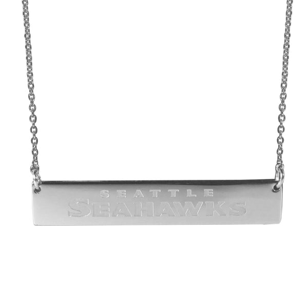 Seattle Seahawks Bar Necklace