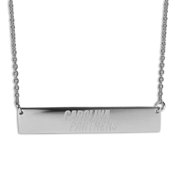Carolina Panthers Bar Necklace