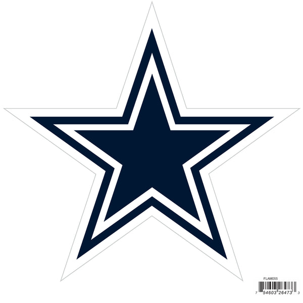 Dallas Cowboys 8 inch Logo Magnets