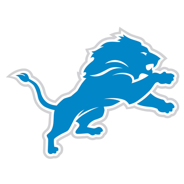 Detroit Lions 8 inch Logo Magnets