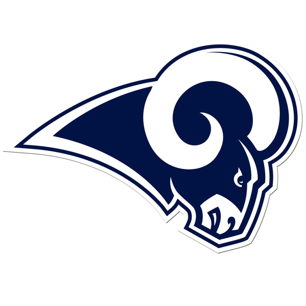 Los Angeles Rams 8 inch Logo Magnets