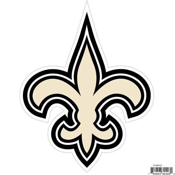 New Orleans Saints 8 inch Logo Magnets