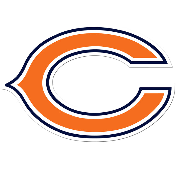 Chicago Bears 8 inch Auto Decal
