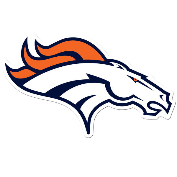 Denver Broncos 8 inch Auto Decal