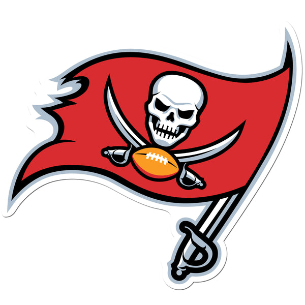 Tampa Bay Buccaneers 8 inch Auto Decal
