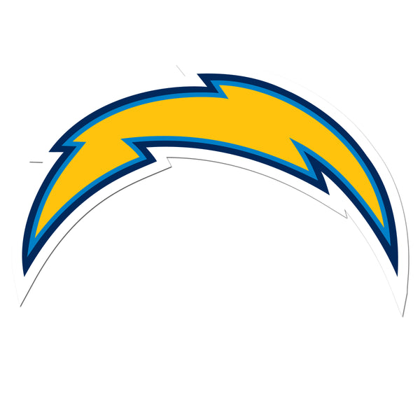 Los Angeles Chargers 8 inch Auto Decal