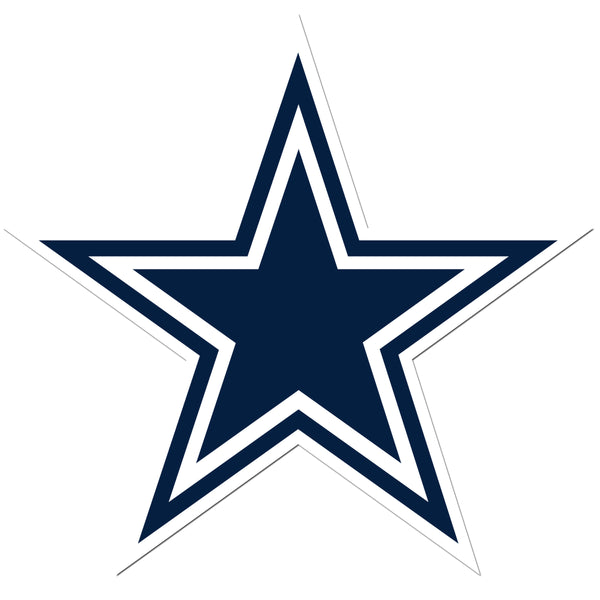 Dallas Cowboys 8 inch Auto Decal