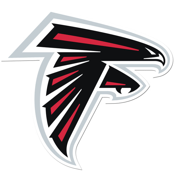 Atlanta Falcons 8 inch Auto Decal