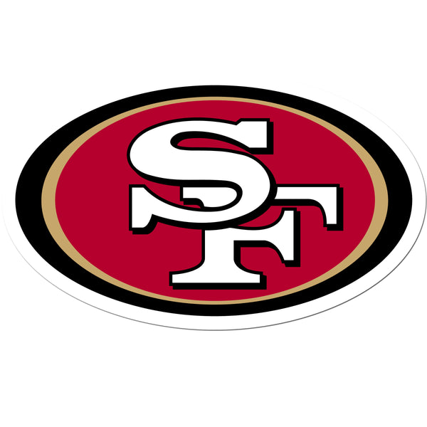 San Francisco 49ers 8 inch Auto Decal