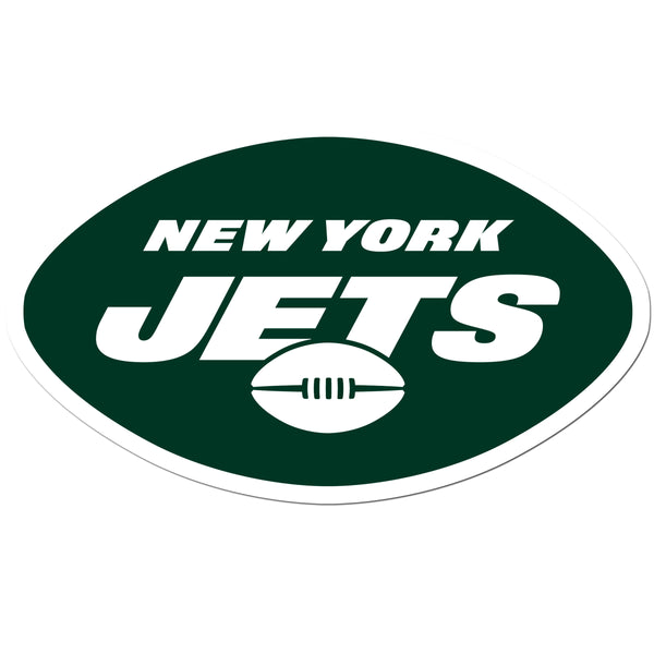 New York Jets 8 inch Auto Decal