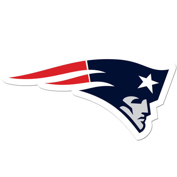 New England Patriots 8 inch Auto Decal