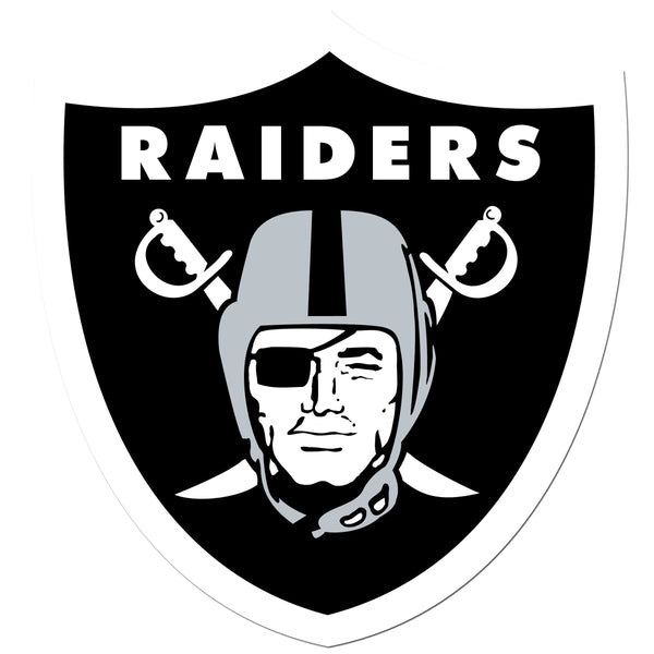 Oakland Raiders 8 inch Auto Decal
