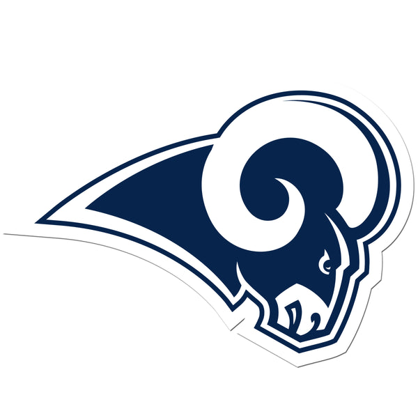Los Angeles Rams 8 inch Auto Decal