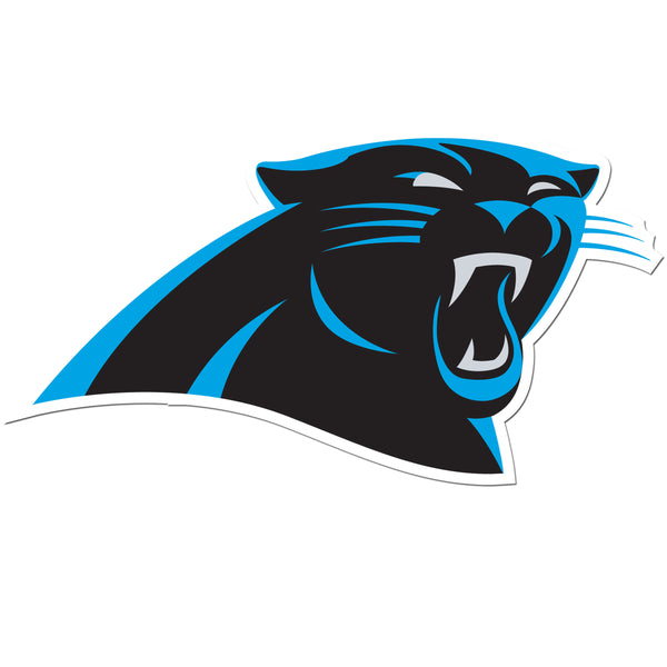 Carolina Panthers 8 inch Auto Decal