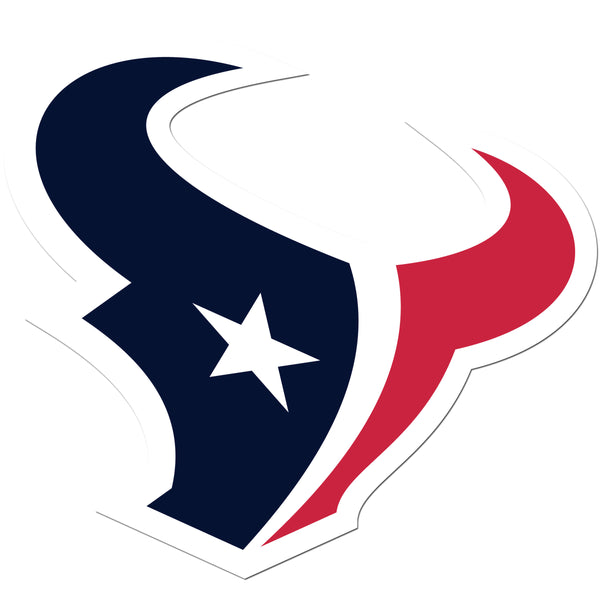 Houston Texans 8 inch Auto Decal