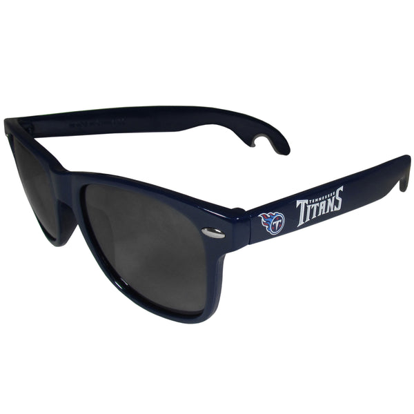 Tennessee Titans Beachfarer Bottle Opener Sunglasses, Dark Blue