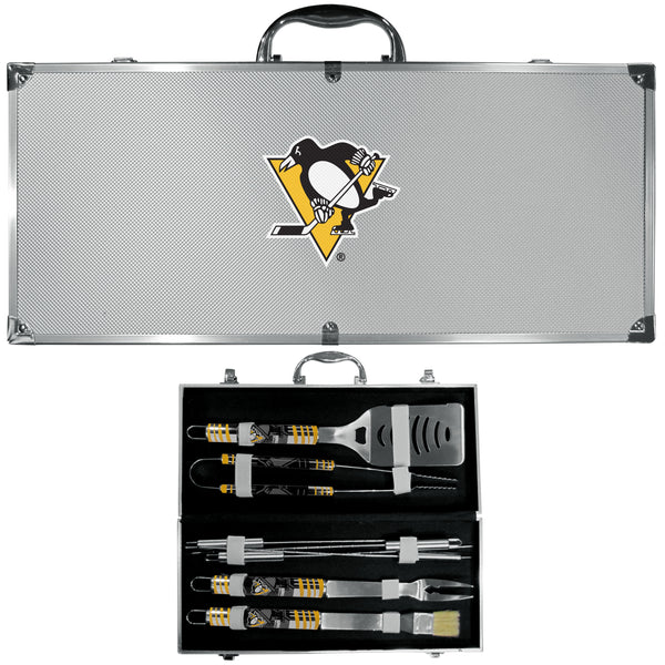 Pittsburgh Penguins® 8 pc Tailgater BBQ Set