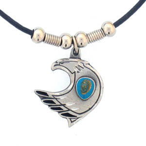 Eagle & Stone Adjustable Cord Necklace