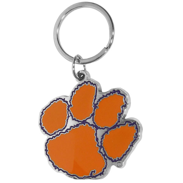 Clemson Tigers Enameled Key Chain