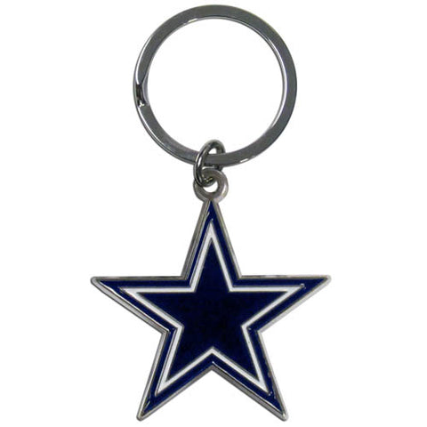 Dallas Cowboys Enameled Key Chain