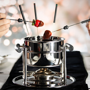 How to prepare a 3 Course Fondue Dinner