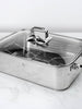 Stainless Steel Stovetop Steamer & Roasting Pan