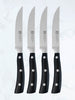 Classic Steak Knives Set of 4 with riveted Plastic Handle
