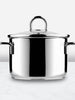 Classic Stainless Steel High Casserole Pot