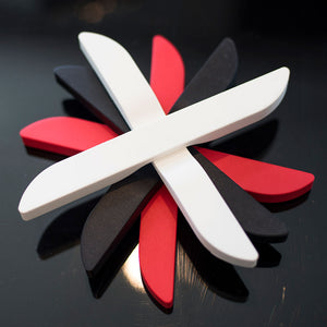 2-Piece Magnetic Silicone Trivet
