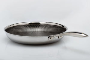 AL-P Honeycomb Frying Pan (28cm)-Hutch Kitchen