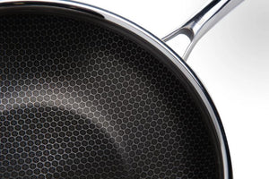 AL-P Honeycomb Wok with Lid-Hutch Kitchen