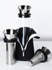 1L Glass Fridge Carafe with Stainless Steel Coffee & Tea Filters