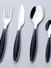 Noir Matte 24-Piece Flatware Set