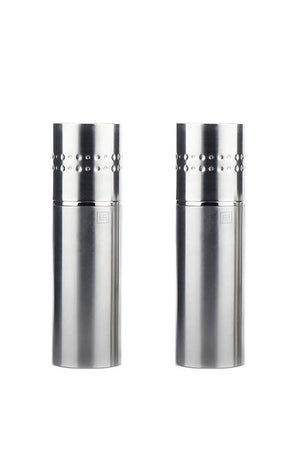 Stainless Steel Salt & Pepper Mill Set