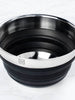 Collapsible Silicon/Stainless Mixing Bowl (Black)